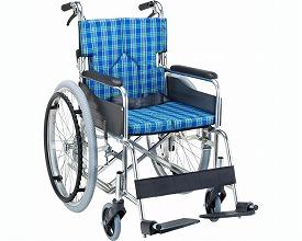 Standard module wheelchair SMK50-4243RF seat 42cm in width Rose (care folding-style fashion for the wheelchair lightweight folding wheelchair wheelchair self-run) for the self-run