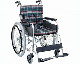 自走用スタンダードモジュール車いす SMK50-4043RF 座幅40cm ローズ  (車椅子 軽量 折り畳み 車イス 車いす 自走用 介護 折りたたみ式 お洒落 )