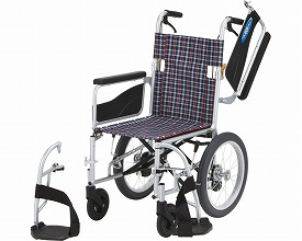 アルミ介助車いす NEO-2W 座幅40cm (車椅子 軽量 折り畳み 車イス 車いす 介助用 介護 折りたたみ式 お洒落 )【敬老の日 プレゼント ギフト】