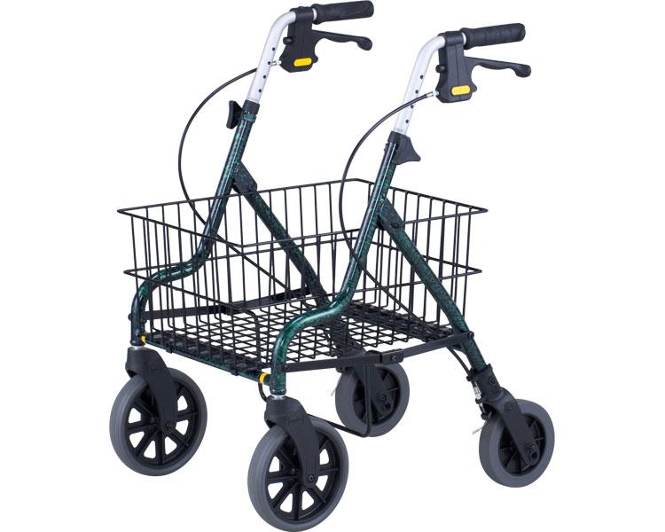 介護用 歩行器 特大かご付きセーフティーアーム ロレータキャリー 大人用 リハビリ 高齢者用 介護用品