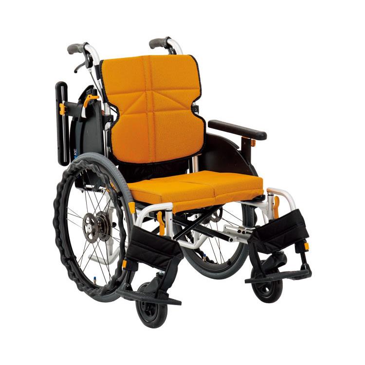 アルミ自走車いす ネクストコア ミニモ (車椅子 軽量 折り畳み 車イス 車いす 自走用 介護 折りたたみ式 お洒落 )( 母の日 プレゼント 2019 )