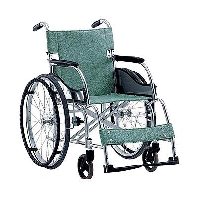アルミ軽量折りたたみ自走式車椅子 立ち止まり君付車椅子[超軽量基本タイプ] MW-SL1BT[松永製作所]車いす 送料無料 車いす 車イス介護用品(介護 車 いす イス 折り畳み 軽量