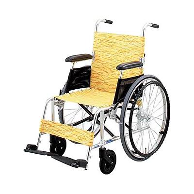 アルミ超軽量折りたたみ自走式車椅子 NA-L8 [日進医療器]送料無料 車いす 車イス介護用品 (折り畳み 軽量)