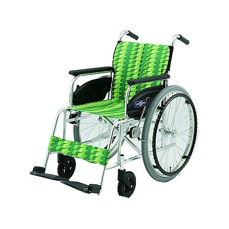 車椅子・折りたたみ自走用車椅子NA-446AS日進医療器自走 折りたたみ 車いす 車イス 介護用品 送料無料