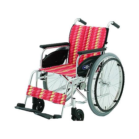 車椅子・折りたたみ自走用車椅子NA-426A日進医療器自走 折りたたみ 車いす 車イス 介護用品 送料無料