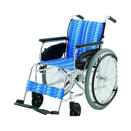車椅子・折りたたみ自走用車椅子NA-446A日進医療器自走 折りたたみ 車いす 車イス 介護用品 送料無料