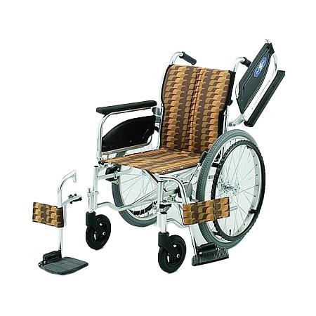車椅子・折りたたみ自走用車椅子NA-406W日進医療器自走 折りたたみ 車いす 車イス 介護用品 送料無料
