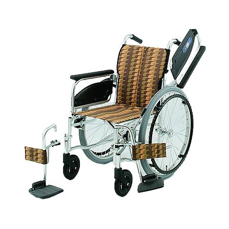 車椅子・折りたたみ自走用車椅子NA-426W日進医療器自走 折りたたみ 車いす 車イス 介護用品 送料無料