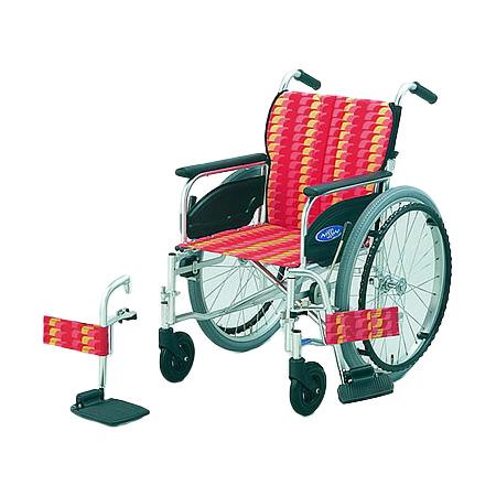 車椅子・折りたたみ自走用車椅子NA-426FO日進医療器自走 折りたたみ 車いす 車イス 介護用品 送料無料