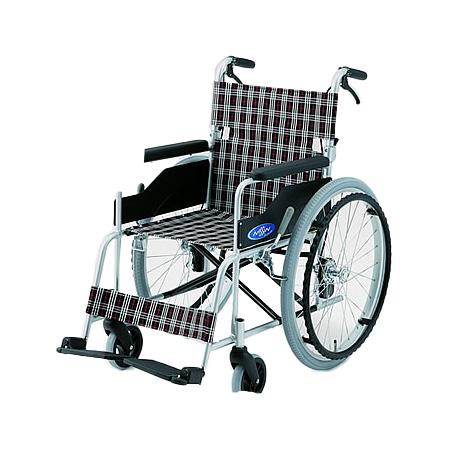 車椅子・折りたたみ自走用車椅子NC-1CB日進医療器自走 折りたたみ 車いす 車イス 介護用品 送料無料