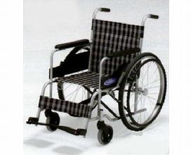 車椅子・折りたたみ自走用車椅子ノーパンクタイヤ仕様 NC-1H低床日進医療器自走 折りたたみ 車いす 車イス 介護用品  送料無料