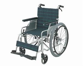 車椅子・折りたたみ自走用車椅子スリーウェイ[NA-M3]日進医療器自走 折りたたみ 車いす 車イス 介護用品 送料無料
