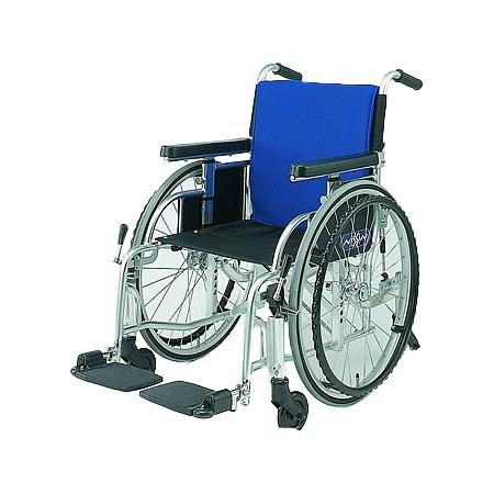 車椅子・折りたたみ自走用車椅子6輪車R日進医療器自走 折りたたみ 車いす 車イス 介護用品 送料無料