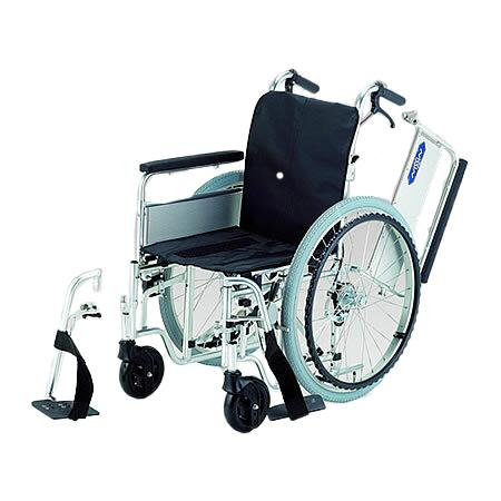 車椅子・折りたたみ自走用車椅子モジュール車椅子EX-M[標準フレーム]日進医療器自走 折りたたみ 車いす 車イス 介護用品 送料無料
