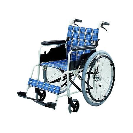 車椅子・折りたたみ自走用車椅子TK-10CBノーパンクタイヤ日進医療器自走 折りたたみ 車いす 車イス 介護用品 送料無料