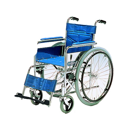 車椅子・折りたたみ自走用車椅子NS-1日進医療器自走 折りたたみ 車いす 車イス 介護用品 送料無料