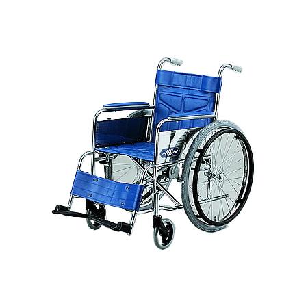 車椅子・折りたたみ自走用車椅子ND-12AM/AL日進医療器自走 折りたたみ 車いす 車イス 介護用品 送料無料