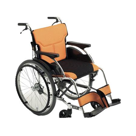 車椅子・折りたたみ自走用車椅子RX-1Miki/ミキ自走 折りたたみ 車いす 車イス 介護用品 送料無料