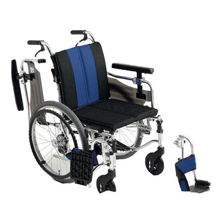 車椅子・折りたたみ自走用車椅子MYU4-20Miki/ミキ自走 折りたたみ 車いす 車イス 介護用品 送料無料