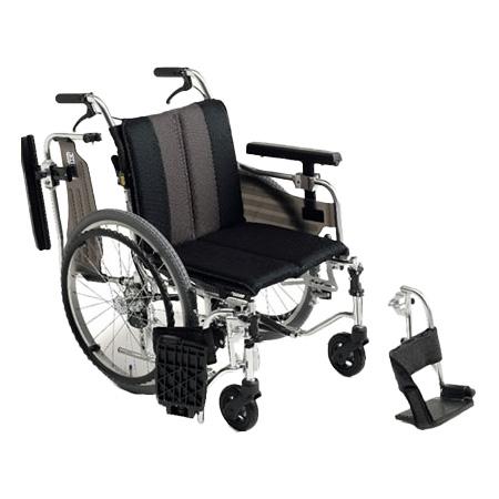 車椅子・折りたたみ自走用車椅子MYU4-OPMiki/ミキ自走 折りたたみ 車いす 車イス 介護用品 送料無料