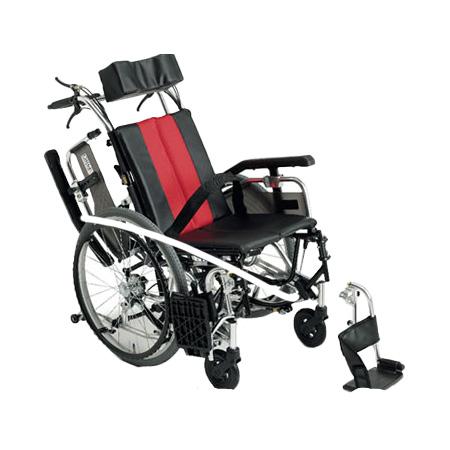 リクライニング車椅子・介助用車椅子TR-1Miki/ミキリクライニング 車いす 車イス 介護用品 送料無料