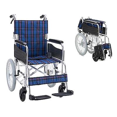 アルミ介助用車椅子 セレクト30 背折[ マキライフテック ]車いす 車イス介護用品(介護用品/介護車いす/車イス)【敬老の日 プレゼント ギフト】