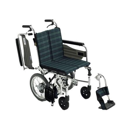 車椅子・折りたたみ介助用車椅子SKT-2Miki/ミキ自走 折りたたみ 車いす 車イス 介護用品 送料無料  介助式 介助用 (介護用品/介護車いす/車イス/折り畳み)