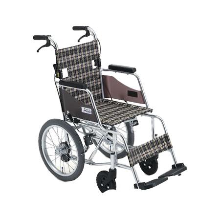 車椅子 軽量・折りたたみ介助用車椅子MOCC-43SPMiki ミキ自走 折りたたみ 車いす 車イス 介護用品 送料無料 介助式 介助用  (介護用品 介護 車いす 車イス 折り畳み )