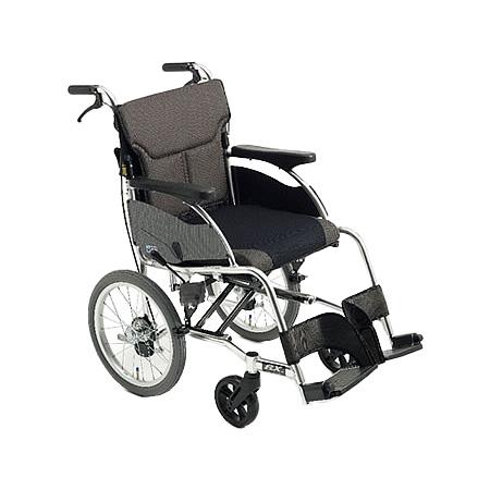 車椅子・折りたたみ介助用車椅子RXC-1Miki/ミキ自走 折りたたみ 車いす 車イス 介護用品 送料無料  介助式 介助用  (介護用品/介護車いす/車イス/折り畳み)