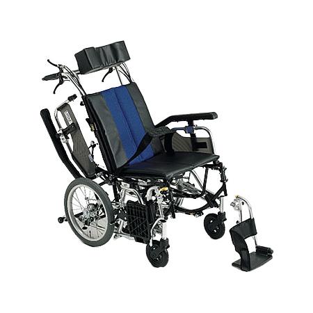 リクライニング車椅子・介助用車椅子TRC-2Miki/ミキリクライニング 車いす 車イス 介護用品 送料無料  介助式 介助用  (介護用品/介護車いす/車イス)