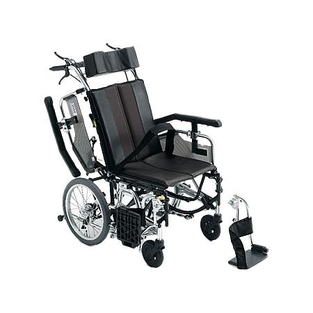 リクライニング車椅子・介助用車椅子TRC-1Miki/ミキリクライニング 車いす 車イス 介護用品 送料無料  介助式 介助用  (介護用品/介護車いす/車イス)