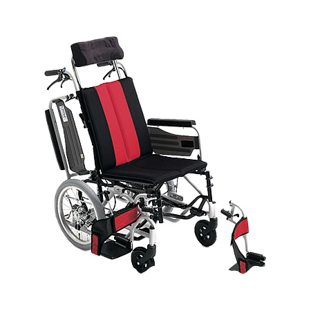 リクライニング車椅子・介助用車椅子MP-TiF HGMiki/ミキリクライニング 車いす 車イス 介護用品 (介護用品/介護車いす/車イス)