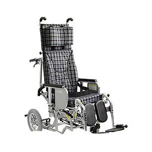 車椅子・フルリクライニング&ティルティングあい&ゆうき<クリオネット> AYK-40EL[ふくらはぎパッドタイプ]カワムラサイクル車いす/車イス/介護用品/