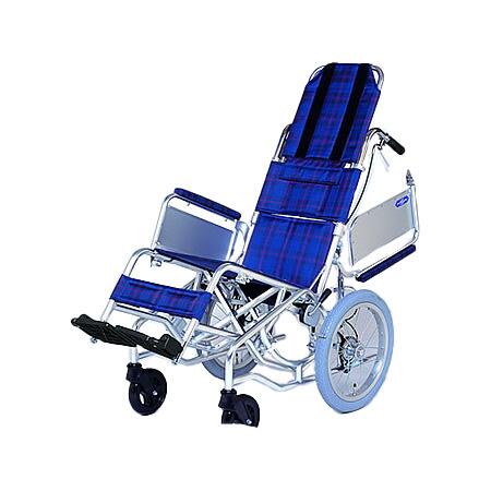 リクライニング車椅子・介助用車椅子NAH-F1日進医療器リクライニング 車いす 車イス 介護用品 送料無料