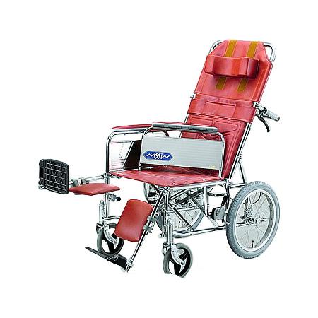 リクライニング車椅子・介助用車椅子NDH-15 [肘掛け着脱式・エレベーティング]日進医療器 リクライニング 車いす 車イス 介護用品 送料無料【敬老の日 プレゼント ギフト】