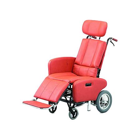 リクライニング車椅子・介助用車椅子NHR-7B日進医療器リクライニング 車いす 車イス 介護用品  送料無料