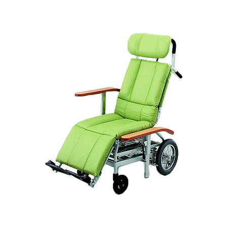 リクライニング車椅子・介助用車椅子NHR-15日進医療器リクライニング 車いす 車イス 介護用品 送料無料
