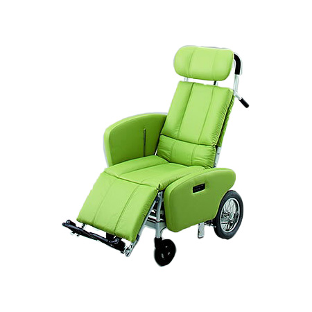 リクライニング車椅子・介助用車椅子NHR-15B日進医療器リクライニング 車いす 車イス 介護用品 送料無料