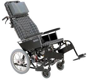 ティルティング&リクライニング車椅子 KX16-42N[スイングアウト]車いす 送料無料  ティルト機構 リクライニングカワムラサイクル ティルト