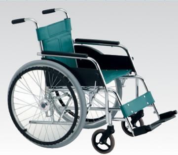 スチール自走用折りたたみ車椅子(松永製作所) DM-81 AH[エアハブ付]車いす 送料無料( 母の日 プレゼント 2019 )