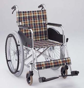 車椅子・送料無料  アルミ折りたたみ自走用車椅子AR-201B[介助ブレーキ付] 車いす 松永製作所 介護用品/車いす/車イス/折り畳み/軽量/ 座幅( 母の日 プレゼント 2019 )