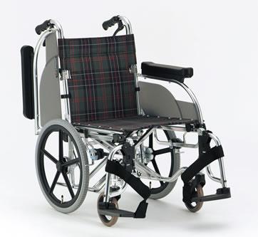 アルミ介助用車椅子 AR-601松永製作所送料無料  介助式 介助用福祉介護用品車いす車イス