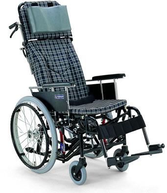 ティルティング&リクライニング自走用車椅子 KX22-42Nカワムラサイクル車いす 送料無料  ティルト機構 リクライニング  ティルト【敬老の日 プレゼント ギフト】