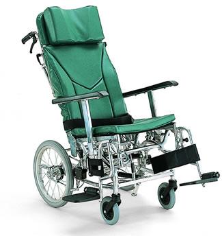 ティルティング&リクライニング車椅子 KXL16-42[ノーパンク]カワムラサイクル   ティルト