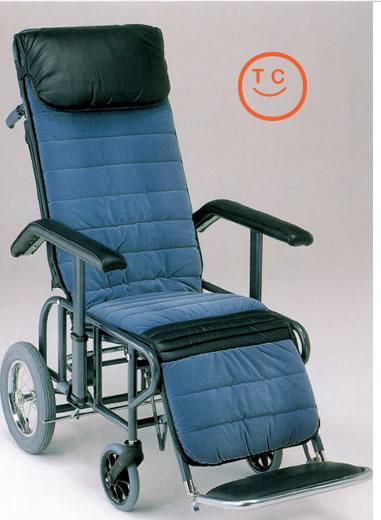 リクライニング車椅子[介助タイプ]フルリクライニング1型[手動・背・足・連動]車いす 送料無料  リクライニング松永製作所