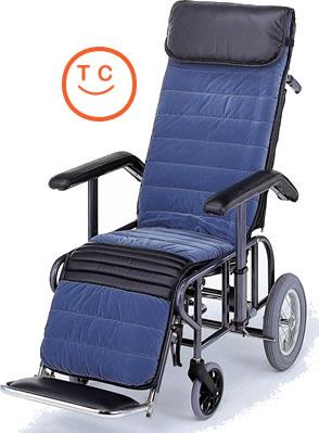 リクライニング車椅子 [介助タイプ] フルリクライニング2型 [手動・背・足・別動] 車いす 送料無料  リクライニング松永製作所【敬老の日 プレゼント ギフト】