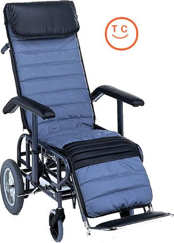 リクライニング車椅子 [介助タイプ] フルリクライニング4型 [手動・背・足・連動/手動座高調節式] 車いす 送料無料  リクライニング松永製作所【お買物マラソン】