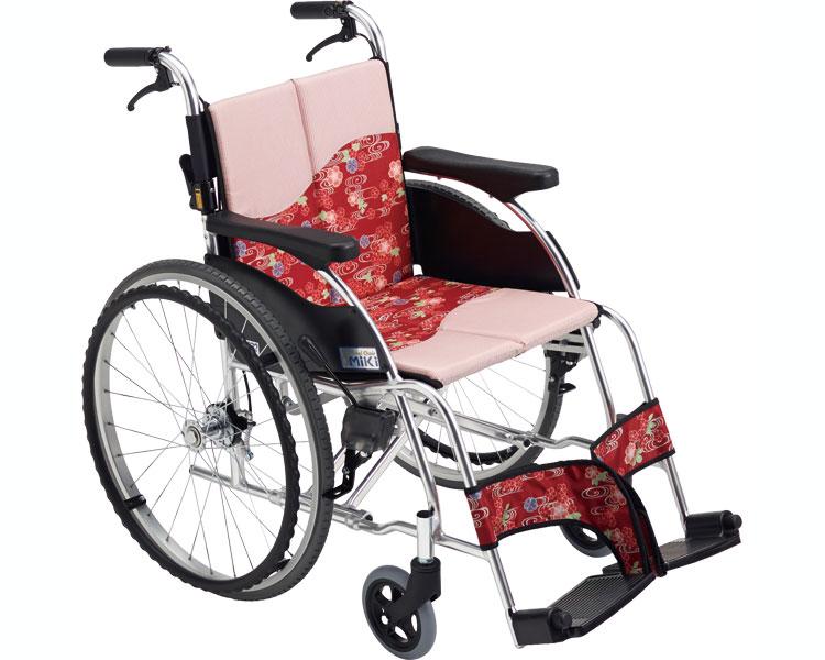 車椅子・折りたたみ自走用車椅子MPR-1 /ミキ 自走 折りたたみ 車いす 車イス 介護用品 送料無料【敬老の日 プレゼント ギフト】