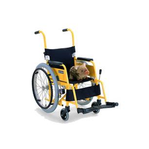 車椅子・送料無料 アルミ製子供用自走車椅子 KAC-N32 (カワムラサイクル)(車椅子 関連) ) (福祉介護) 座幅 前座高(介護用品 介護 福祉用具 車いす 車イス 折り畳み 軽量 敬老の日)( 母の日 プレゼント 2019 )