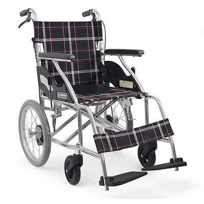 [カワムラサイクル]アルミ折り畳み介助式ノーパンク車椅子(kk0149) (介護用品/介護車いす/車イス)【敬老の日 プレゼント ギフト】
